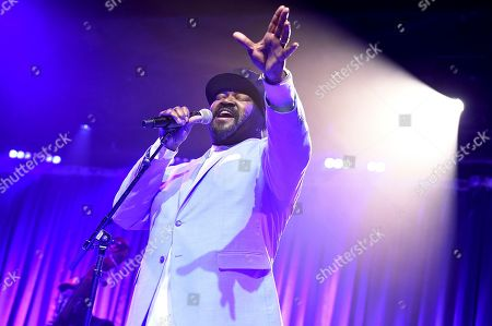 Gregory Porter perfroms at Sir Lucian Grainge's 2020 Artist Showcase Presented By Citi and Lenovo on in Los Angeles