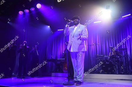 Stock Photo of Gregory Porter perfroms at Sir Lucian Grainge's 2020 Artist Showcase Presented By Citi and Lenovo on in Los Angeles