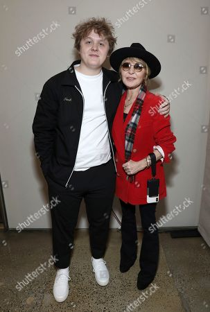 Lewis Capaldi, Lulu Kennedy-Cairns. Lewis Capaldi, left, and Lulu Kennedy-Cairns attend Sir Lucian Grainge's 2020 Artist Showcase Presented By Citi and Lenovo on in Los Angeles