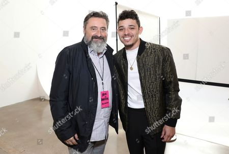 Jesus Lopez, Anthony Ramos. UMLE Chairman/CEO Jesus Lopez, left, and Anthony Ramos attends Sir Lucian Grainge's 2020 Artist Showcase Presented By Citi and Lenovo on in Los Angeles