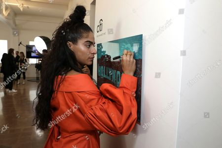 Jessie Reyez attends Sir Lucian Grainge's 2020 Artist Showcase Presented By Citi and Lenovo on in Los Angeles