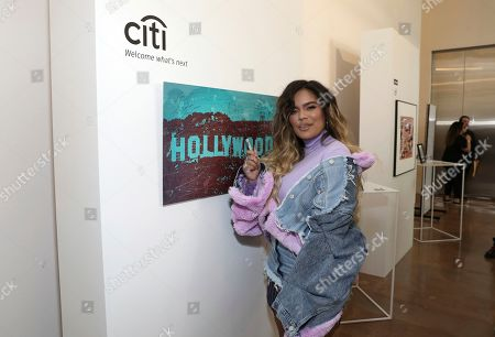 Karol G attends Sir Lucian Grainge's 2020 Artist Showcase Presented By Citi and Lenovo on in Los Angeles