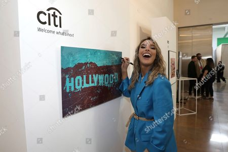LeLe Pons attends Sir Lucian Grainge's 2020 Artist Showcase Presented By Citi and Lenovo on in Los Angeles