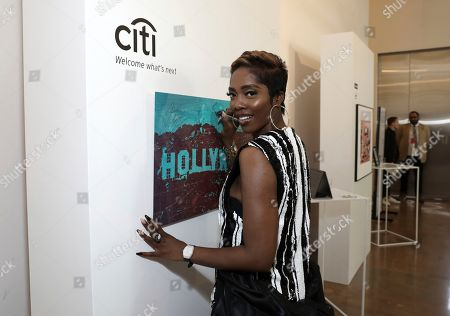 Tiwa Savage attends Sir Lucian Grainge's 2020 Artist Showcase Presented By Citi and Lenovo on in Los Angeles