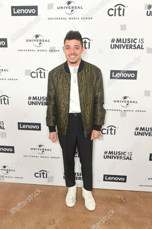 Anthony Ramos attends Sir Lucian Grainge's 2020 Artist Showcase Presented By Citi and Lenovo on in Los Angeles