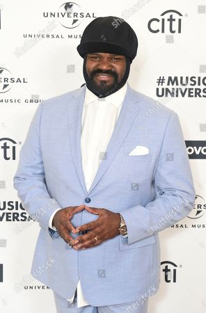Gregory Porter attends Sir Lucian Grainge's 2020 Artist Showcase Presented By Citi and Lenovo on in Los Angeles