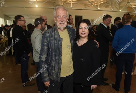 Chris Blackwell, Michele Anthony. Chris Blackwell and Michele Anthony attend Sir Lucian Grainge's 2020 Artist Showcase Presented By Citi and Lenovo on in Los Angeles