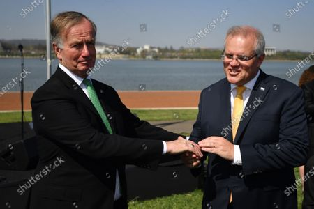 Editorial image of Australia Day Citizenship Ceremony and Flag Raising event in Canberra - 26 Jan 2020