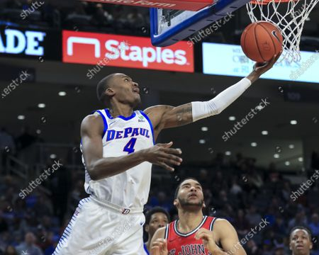 Editorial picture of NCAA Basketball DePaul vs St Johns, USA - 25 Jan 2020