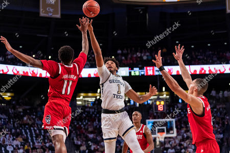Editorial picture of NC State Georgia Tech Basketball, Atlanta, USA - 25 Jan 2020