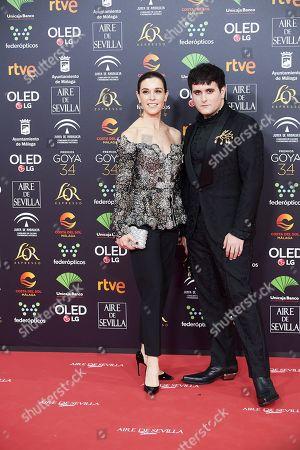 Alejando Alejandro Gomez Palomo and Raquel Sanchez Silva