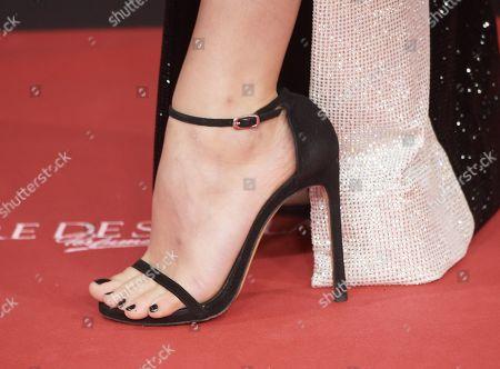 Andrea Duro, shoe detail