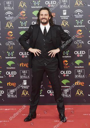 Editorial photo of 34th Goya Awards, Jose Maria Martin Carpena Sports Palace, Malaga, Spain - 25 Jan 2020