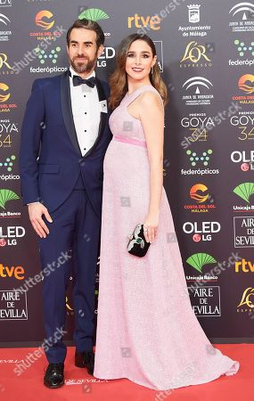 Editorial picture of 34th Goya Awards, Jose Maria Martin Carpena Sports Palace, Malaga, Spain - 25 Jan 2020