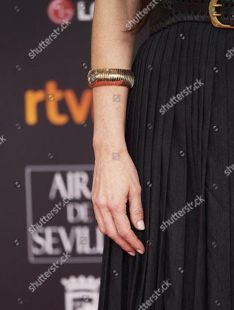 Maribel Verdu, jewellery detail