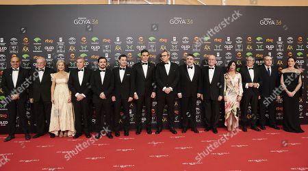 Pedro Sanchez, Mariano Barroso, Alberto Garzon, Juan Jose Moreno Bonilla, Nora Navas
