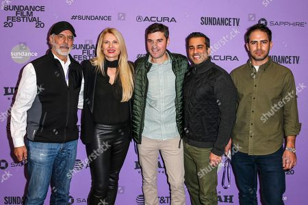 Stock Picture of Jon Avnet, Marina Grasic, Jai Khanna, Eli Saslow and Jake Avnet