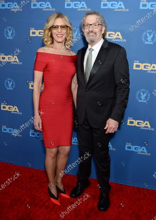 Christine Lahti and husband Thomas Schlamme