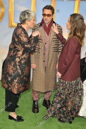 Emma Thompson, Robert Downey Jr. and Susan Downey