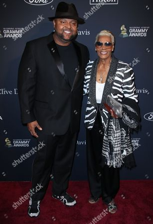 Dionne Warwick and guest