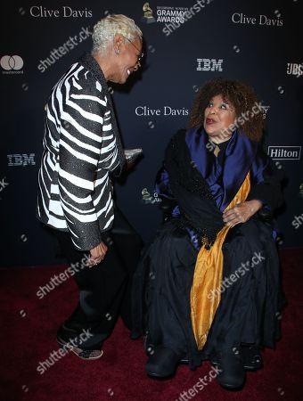 Dionne Warwick and Roberta Flack