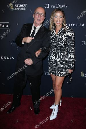 Stock Image of Paul Shaffer and Victoria Lily Shaffer