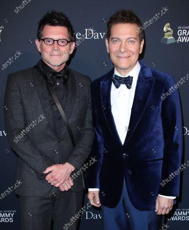 Michael Feinstein and husband