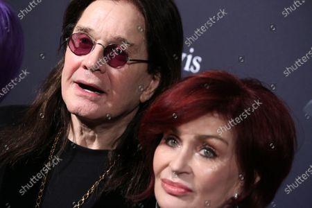 Ozzy Osbourne and Sharon Osbourne