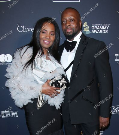 Claudinette Jean and Wyclef Jean