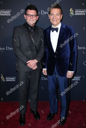 Stock Picture of Terrence Flannery and Michael Feinstein