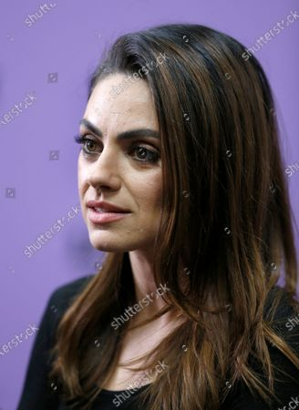 Mila Kunis arrives for the premiere of the film 'Four Good Days' at the 2020 Sundance Film Festival in Park City, Utah, USA, 25 January 2020. The festival runs from 22 January to 02 February 2020.