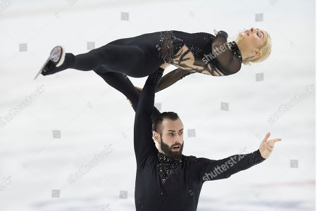 Ashley Cain-Gribble, Timothy LeDuc. Ashley Cain-Gribble and Timothy LeDuc compete in senior pairs free skate program at the U.S. Figure Skating Championships, in Greensboro, N.C