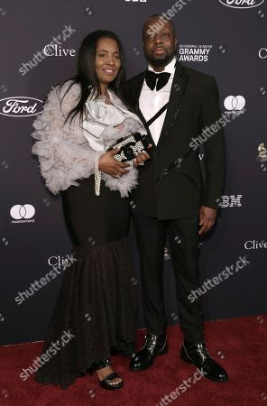 Claudinette Jean, Wyclef Jean. Claudinette Jean, left, and Wyclef Jean arrive at the Pre-Grammy Gala And Salute To Industry Icons at the Beverly Hilton Hotel, in Beverly Hills, Calif