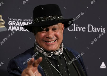 Narada Michael Walden arrives at the Pre-Grammy Gala And Salute To Industry Icons at the Beverly Hilton Hotel, in Beverly Hills, Calif