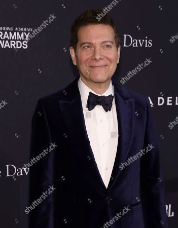 Michael Feinstein arrives at the Pre-Grammy Gala And Salute To Industry Icons at the Beverly Hilton Hotel, in Beverly Hills, Calif