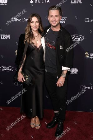 Stock Picture of Marisol Maldonado, Rob Thomas. Marisol Maldonado, left, and Rob Thomas arrive at the Pre-Grammy Gala And Salute To Industry Icons at the Beverly Hilton Hotel, in Beverly Hills, Calif
