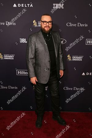 Editorial picture of 2020 Pre-Grammy Gala And Salute To Industry - Arrivals, Beverly Hills, USA - 25 Jan 2020