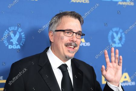 Vince Gilligan poses on the red carpet at the 72nd Annual Directors Guild of America (DGA) Awards at the Ritz-Carlton in Los Angeles, California, USA, 25 January 2020.
