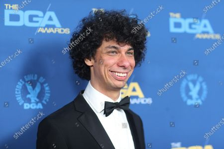 Luke Matheny poses on the red carpet at the 72nd Annual Directors Guild of America (DGA) Awards at the Ritz-Carlton in Los Angeles, California, USA, 25 January 2020.