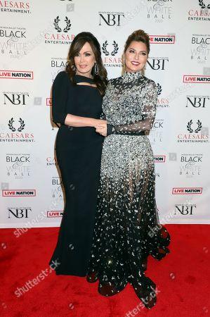 Marie Osmond and Shania Twain