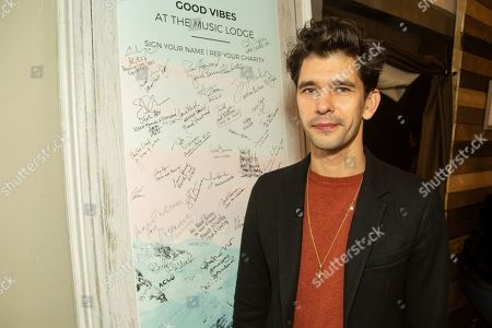 Ben Whishaw is seen at the Music Lodge during the Sundance Film Festival, in Park City, Utah