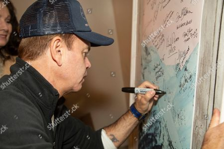 Paul Oakenfold is seen at the Music Lodge during the Sundance Film Festival, in Park City, Utah