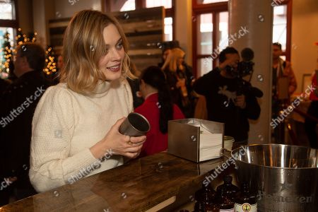 Bella Heathcote is seen at the Music Lodge during the Sundance Film Festival, in Park City, Utah