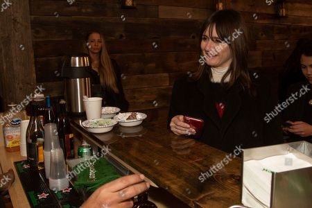 Stock Picture of Emily Mortimer is seen at the Music Lodge during the Sundance Film Festival, in Park City, Utah