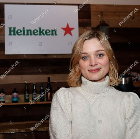 Sarah Gadon at the Music Lodge during the Sundance Film Festival on Friday, Jan. 24., 2020, in Park City, Utah