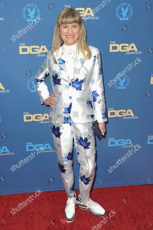 Catherine Hardwicke attends the 72nd Annual Directors Guild of America Awards at the Ritz-Carlton Hotel, in Los Angeles