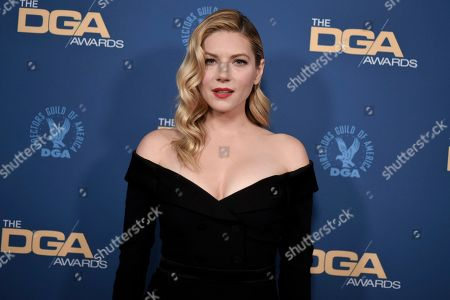 Katheryn Winnick attends the 72nd Annual Directors Guild of America Awards at the Ritz-Carlton Hotel, in Los Angeles