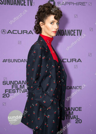 "Miranda July attends the premiere of ""Kajillionaire"" at the Eccles Theatre during the 2020 Sundance Film Festival, in Park City, Utah"
