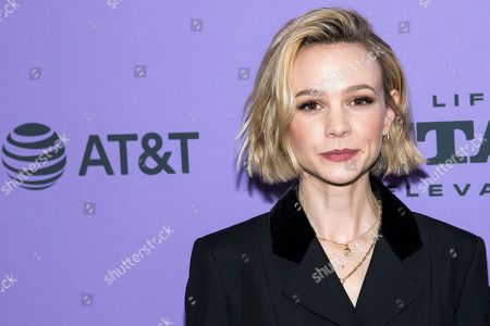 "Carey Mulligan attends the premiere of ""Promising Young Woman"" at the MARC theater during the 2020 Sundance Film Festival, in Park City, Utah"