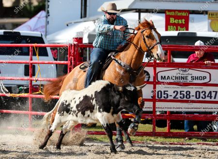 Editorial image of PRCA Rodeo 71st Homestead Championship Rodeo, Homestead, USA - 25 Jan 2020